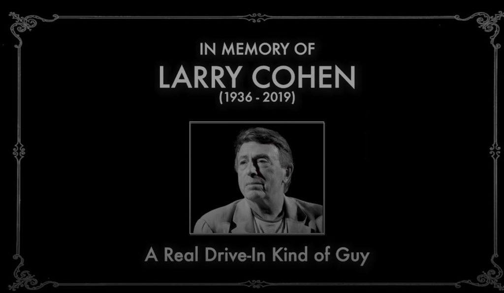 RIP Larry Cohen