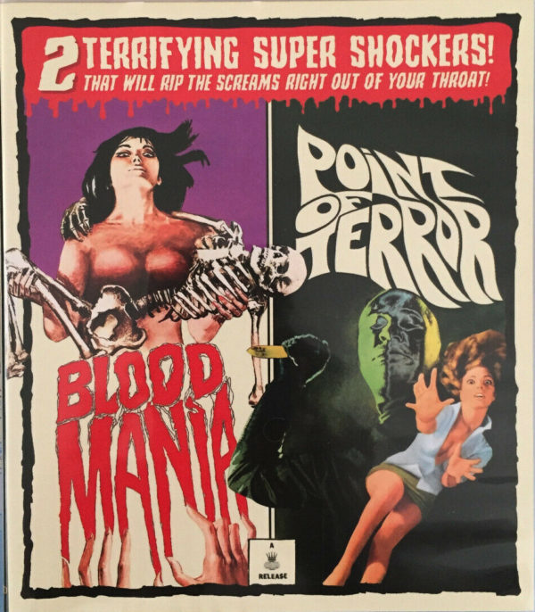 Blood Mania and Point of Terror Multi-Disc Set