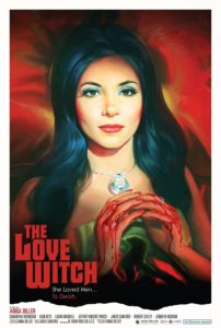 movie poster of the love witch